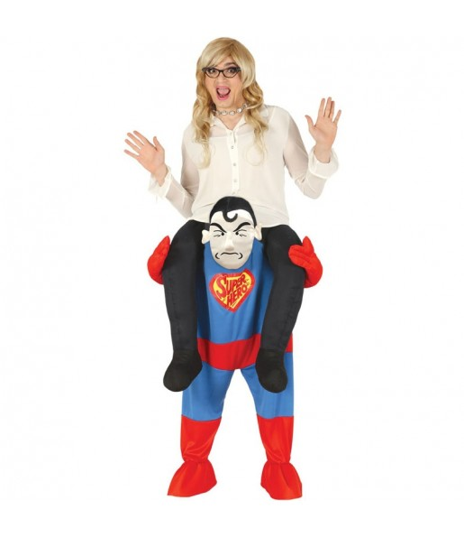 Disfraz de Superman a hombros adulto