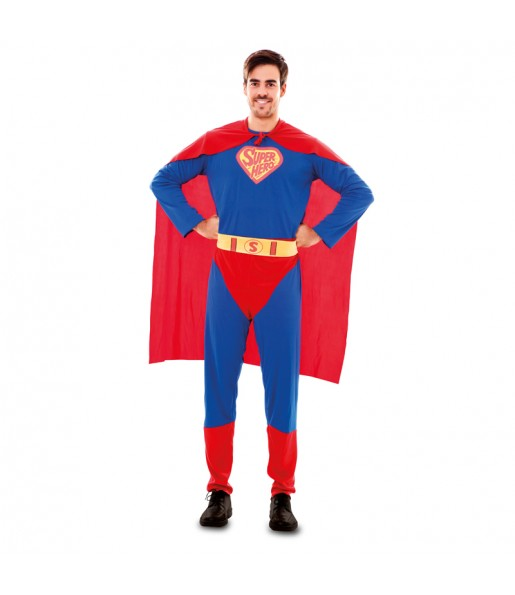 Disfraz de Superman adulto