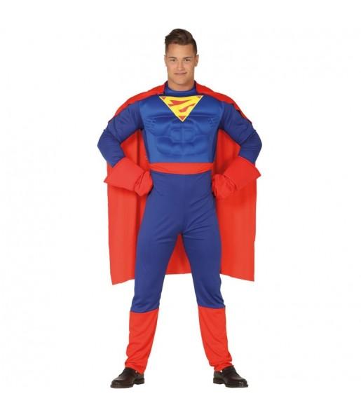 Disfraz de Superman Musculoso para adulto