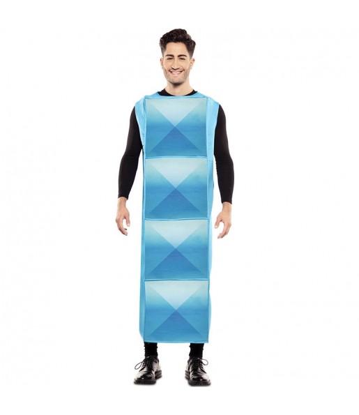 Disfraz de Tetris Azul Claro para hombre