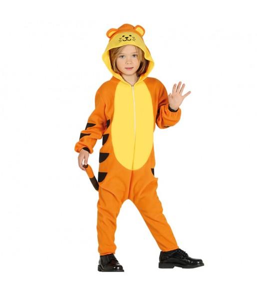 Disfraz de Tigre Kigurumi para niño