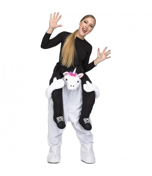 Disfraz de Unicornio a hombros para adulto