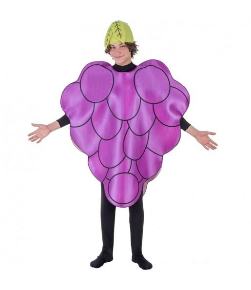 Disfraz de Uva para adulto