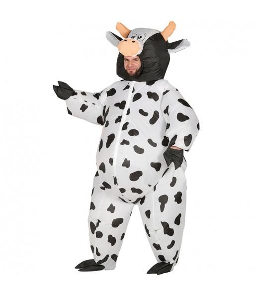 Disfraz de Vaca Hinchable adulto