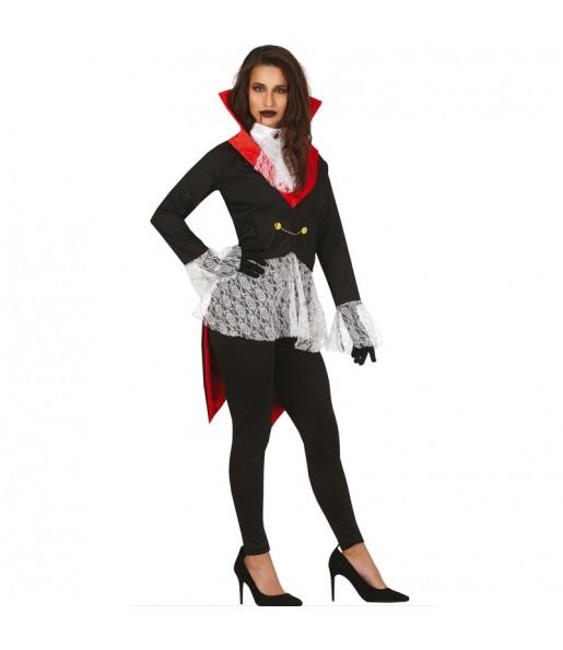 Disfraz de Vampiresa malvada para mujer