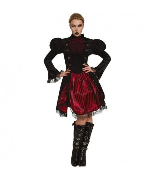 Disfraz de Vampiresa Steampunk para mujer