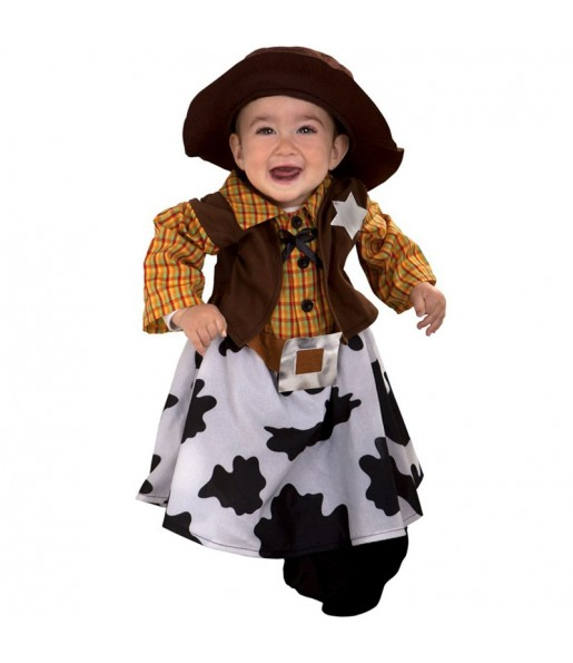 Disfraz de Vaquera bebé