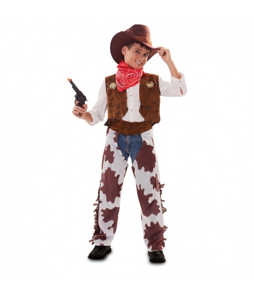 Disfraz de Vaquero Lejano Oeste para niño