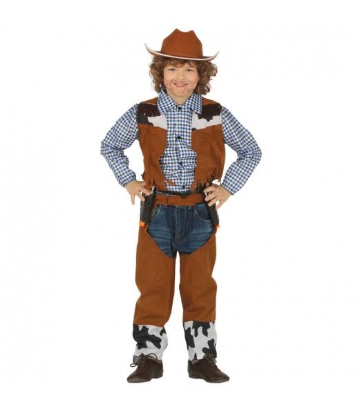 Disfraz de Vaquero Rodeo para niño