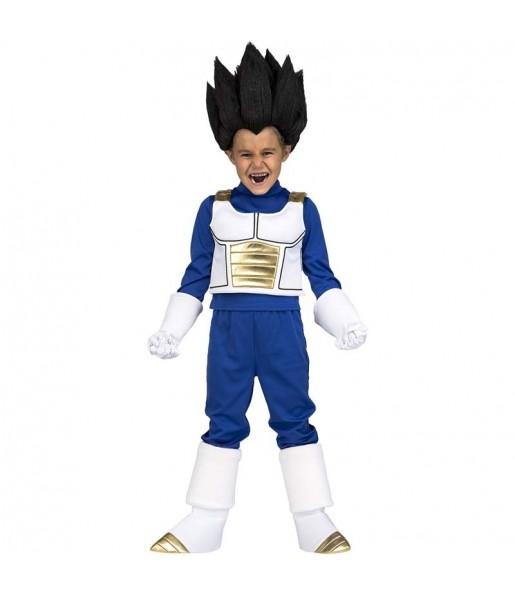 Disfraz de Vegeta para niño Dragon Ball