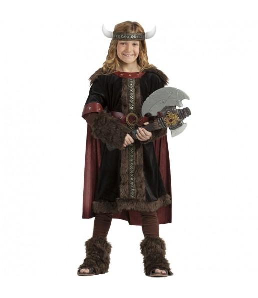 Disfraz de Vikingo Black niño