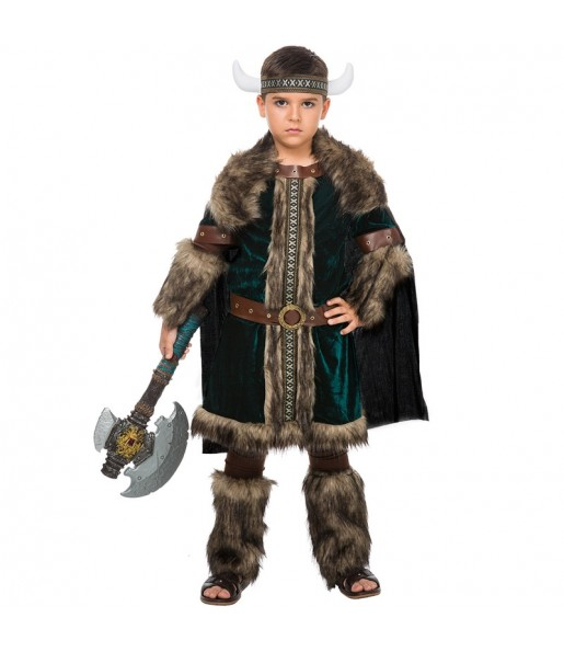 Disfraz de Vikingo Nórdico para niño