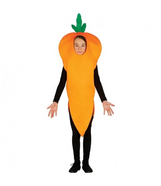 Disfraz de Zanahoria para niños