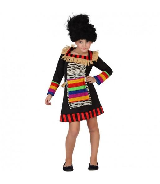 Disfraz de Zulú Niña