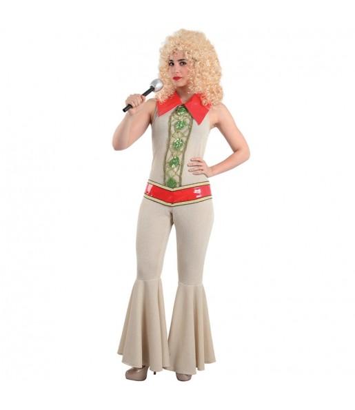 Disfraz Disco Abba Mujer