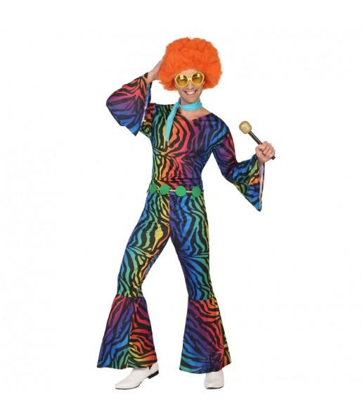 Disfraz Disco Retro para hombre