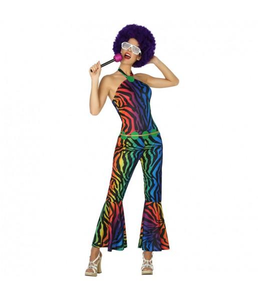 Disfraz Disco Retro para mujer