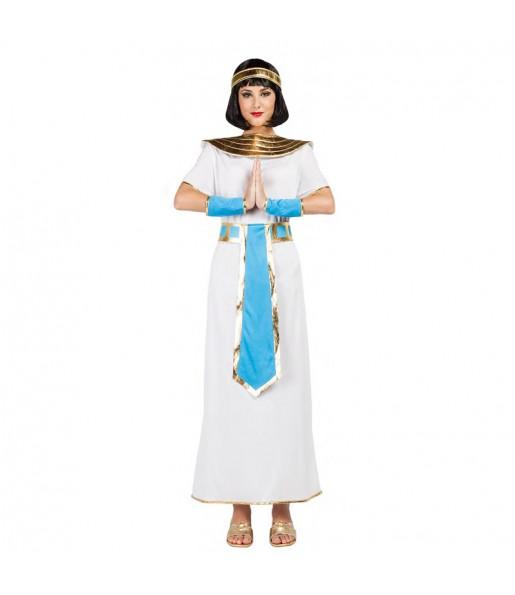 Disfraz de Egipcia azul para mujer
