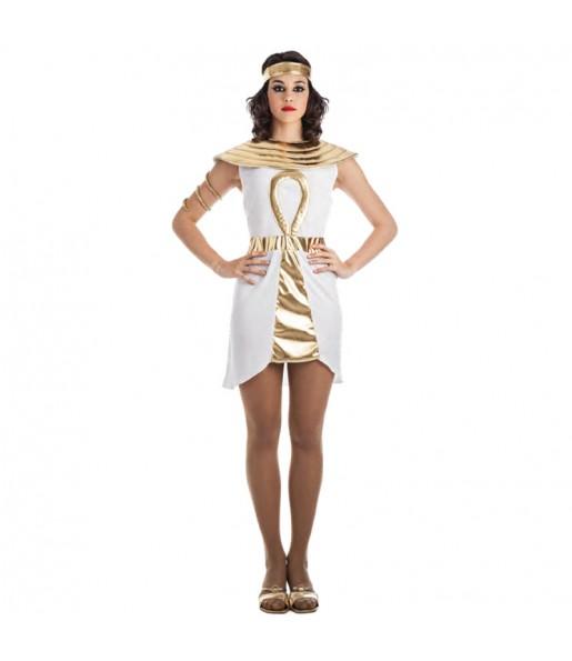 Disfraz de Egipcia Dorada para mujer