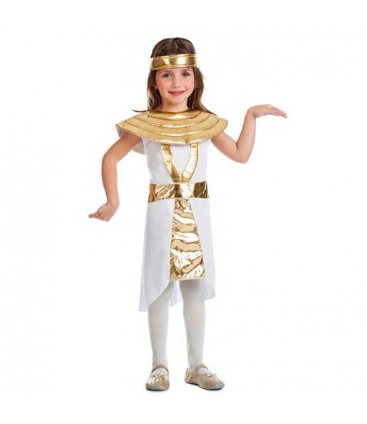 Disfraz de Egipcia Dorada para niña