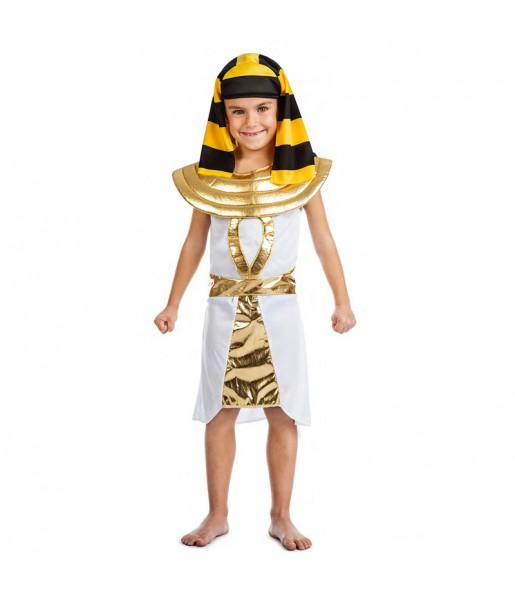 Disfraz de Egipcio Dorado para niño