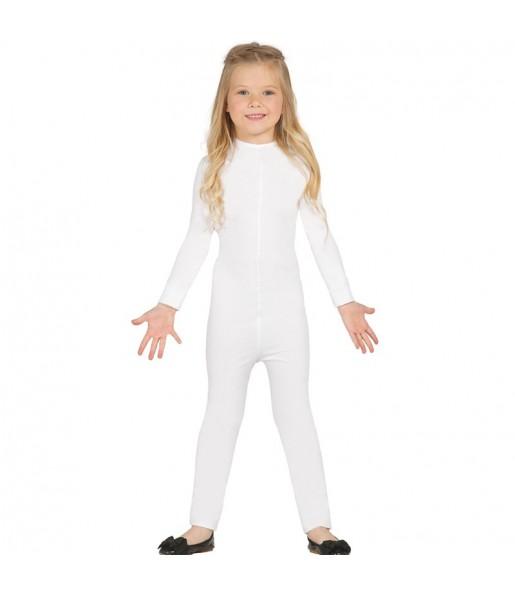 Disfraz de Maillot Blanco Spandex infantil