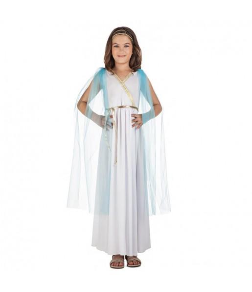 Disfraz de Sacerdotisa Griega para niña