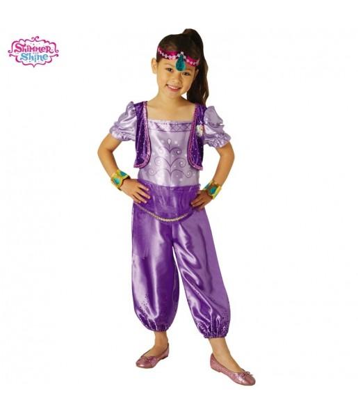 Disfraz Shimmer and Shine Morado para niña