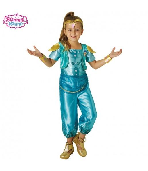 Disfraz Shimmer and Shine Turquesa para niña