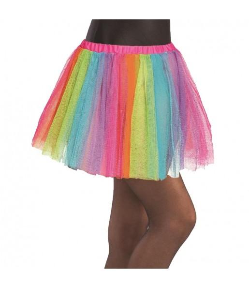 Falda tutú Multicolor niña