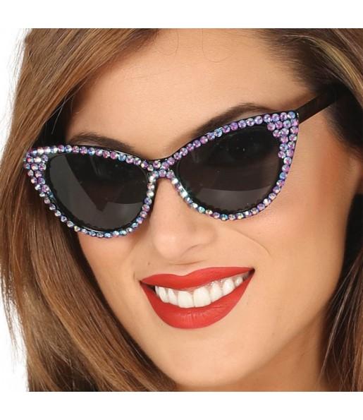 Gafas Disco con brillantes