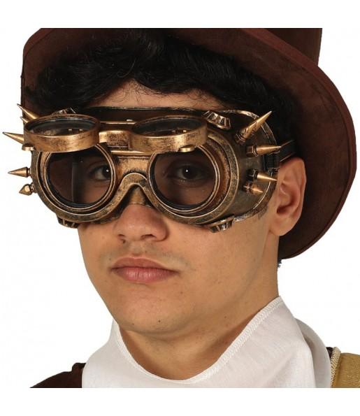 Gafas Steampunk con pinchos