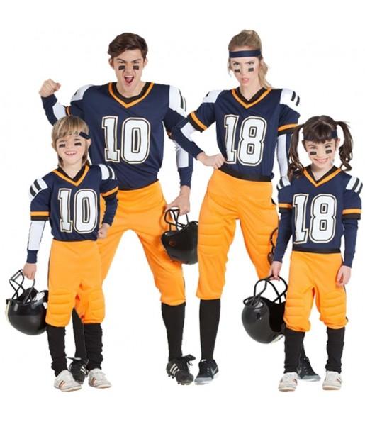 Grupo de Jugadores Fútbol Americano NFL