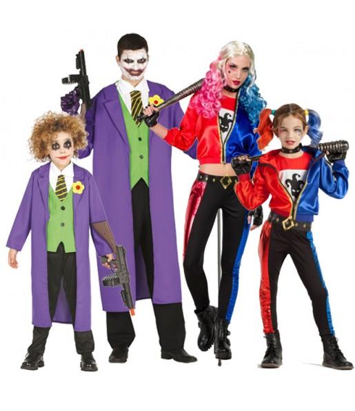Grupo Joker y Harley Quinn Suicide Squad