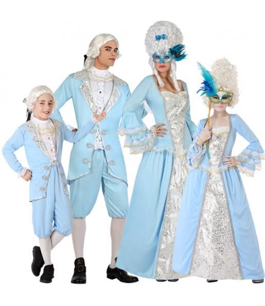 Grupo de Venecianos Época Azules
