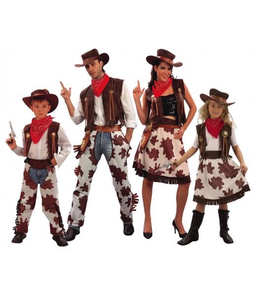 Grupo Disfraces de Vaqueros