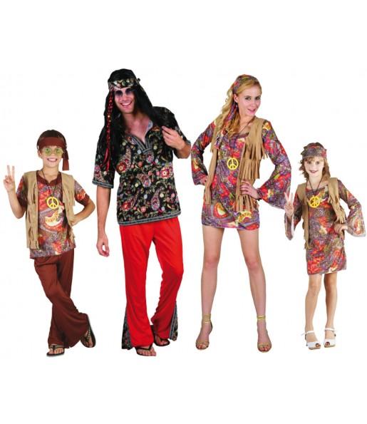 Grupo de Disfraces de Hippies