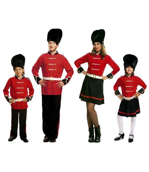 Grupo Disfraces de Guardias Reales Ingleses baratos
