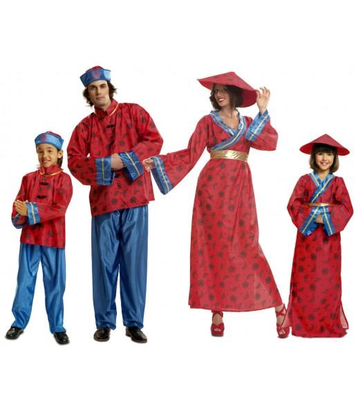 Grupo Disfraces de Chinos baratos