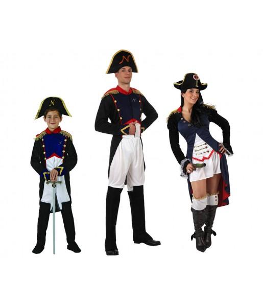 Grupo Disfraces de Napoleones