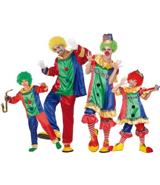 Grupo de Disfraces Payasos