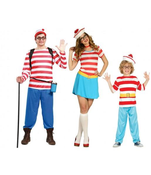 Grupo de Disfraces de Wally