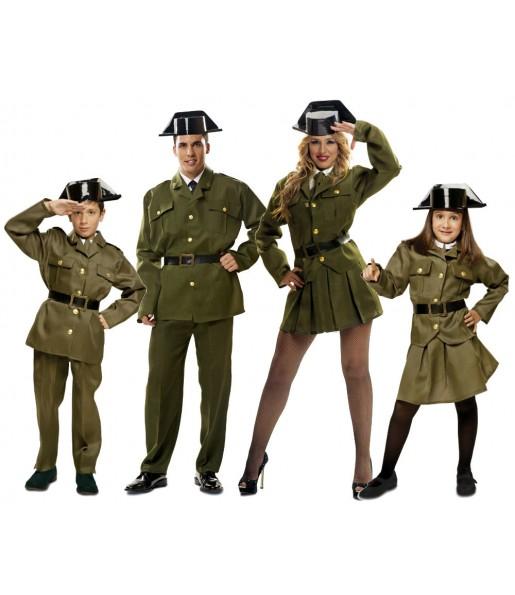 Grupo Disfraces de Guardias Civiles