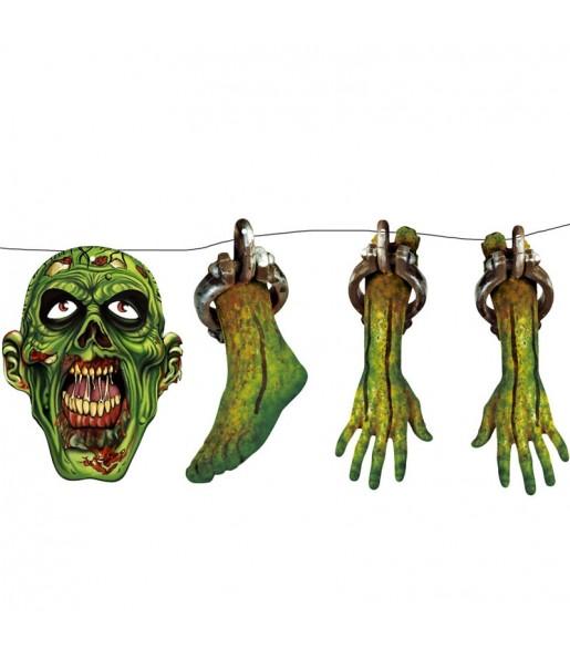 Guirnalda Zombies Halloween