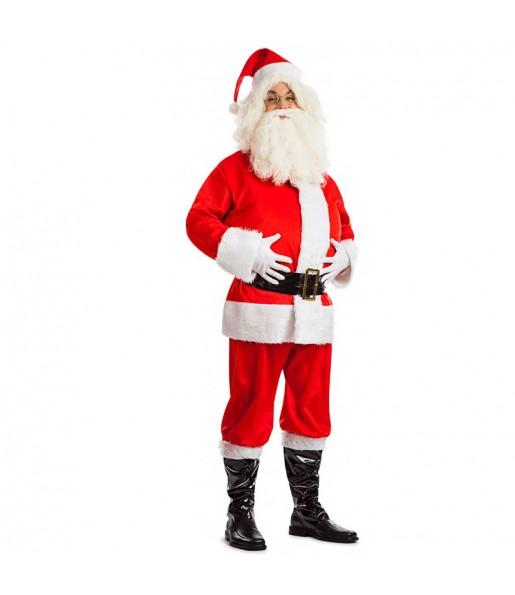 Disfraz de Papá Noel Lujo para adulto