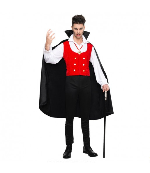 Disfraz de Vampiro Halloween adulto
