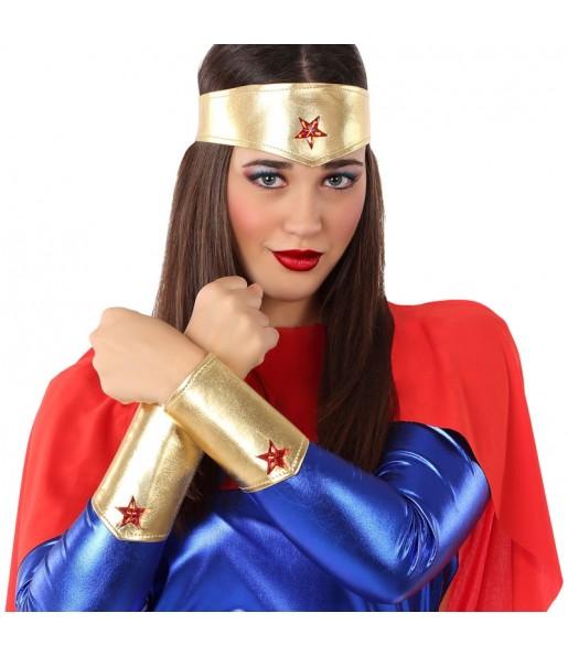 Kit Accesorios disfraz Wonder Woman