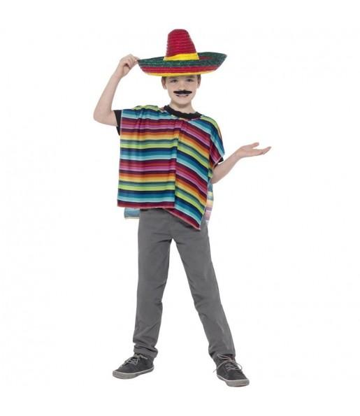 Kit Disfraz Mexicano para niño