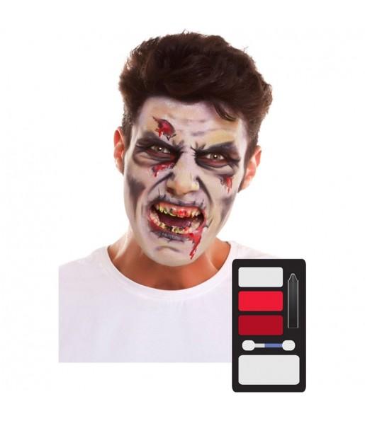 Kit Maquillaje de Zombie Halloween