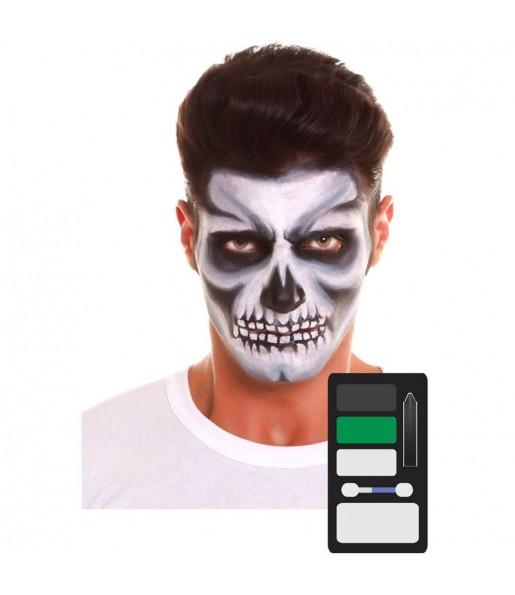 Paleta Maquillaje de Esqueleto Halloween